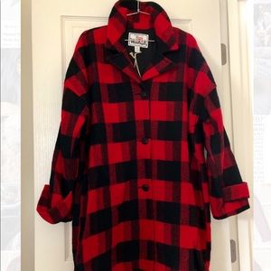 Woolrich Women's Mill Wool Top Coat - Made in USA